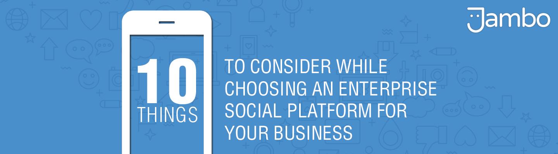 enterprise social platform for your business